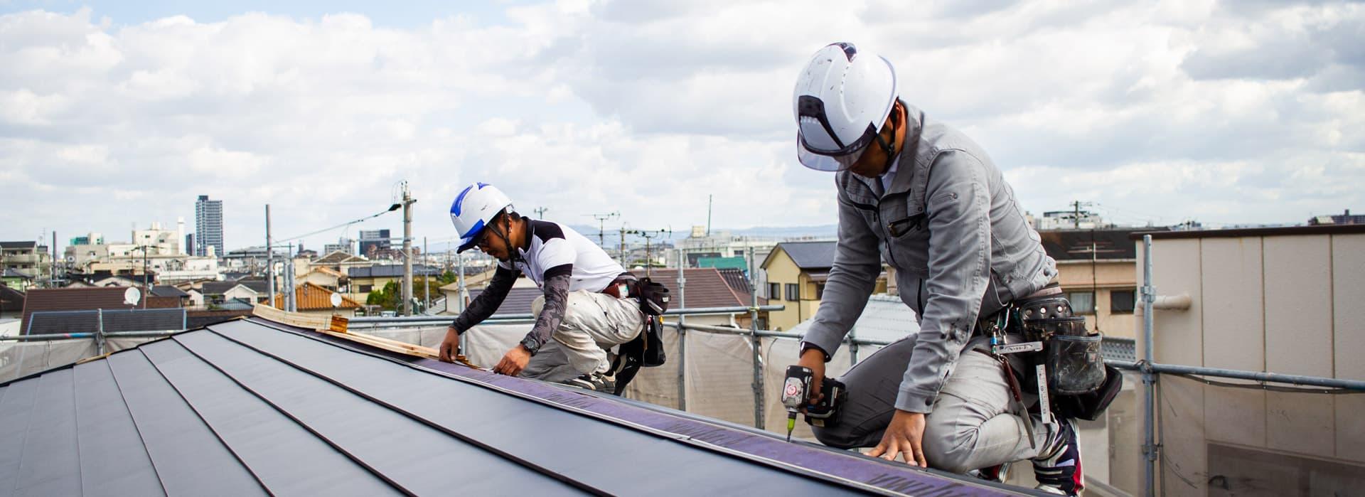 大阪の屋根工事・雨漏り修理・雨樋工事業者|輝匠建業の会社概要