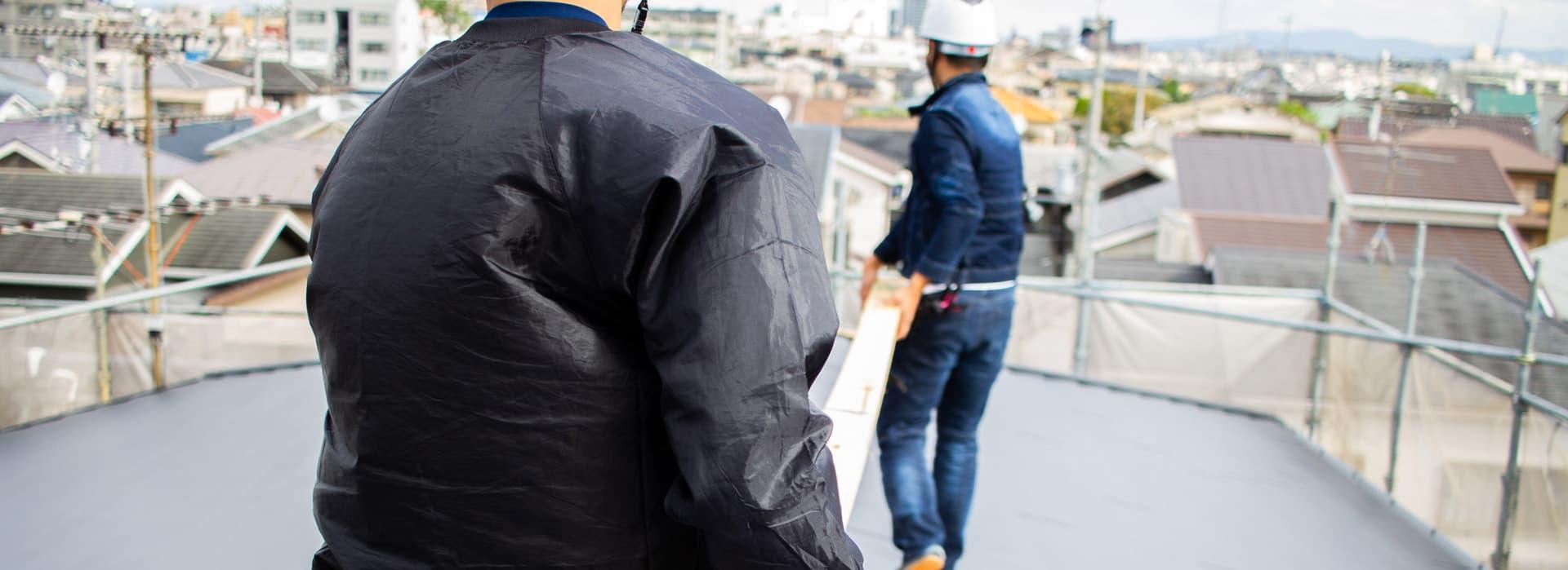 大阪の屋根工事・雨漏り修理・雨樋工事など輝匠建業の施工メニュー