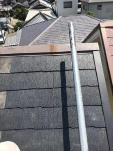 泉大津市で台風被害による屋根修理 完工
