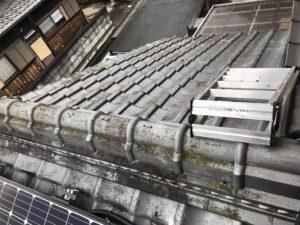 既存屋根の様子