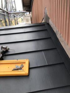セメント瓦の葺き替え工事 完工