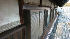 窓枠サッシの入れ替え工事