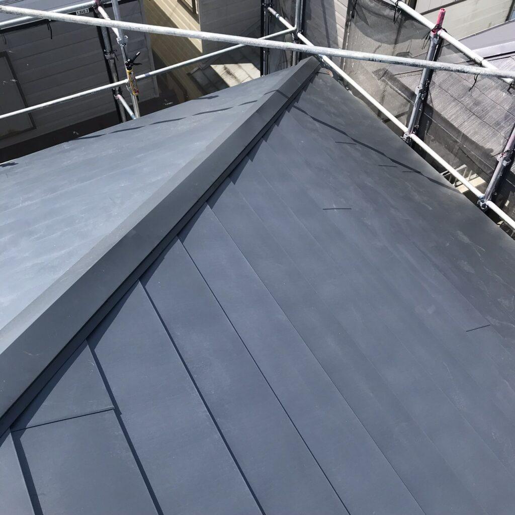 大屋根の施工が完了