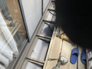 下屋根施工