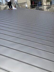 ガルバリウム立平新築工事