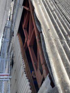 工場外壁スレート工事