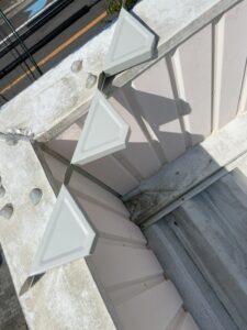 新規屋根材設置