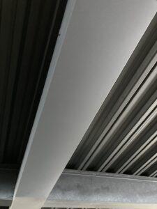 新規ガルバリウム鋼板取り付け