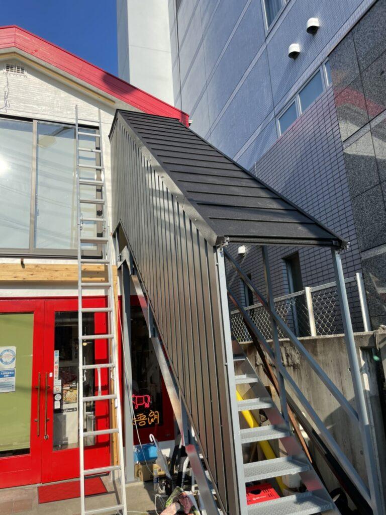 店舗屋根外壁工事